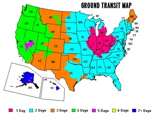 Ground Transit Map